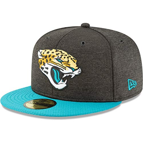 New Era Jacksonville Jaguars NFL Sideline 18 Home On Field Cap 59fifty Fitted OTC