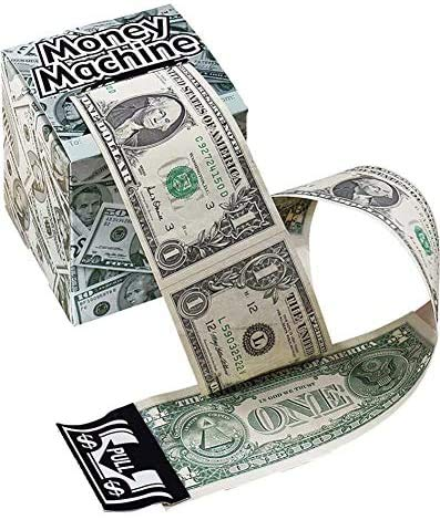 Unique Novelties Green Money Machine Cash Dispenser Set of 2