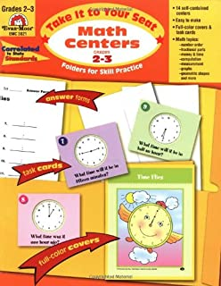 Take It to Your Seat Math Centers, Grades 2-3