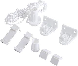 Ensemble Embrayage Chaîne de Store Enrouleur Perle Ajustable pour Store Rideau Voilage Tube 17mm Kit d'accessoires Support...