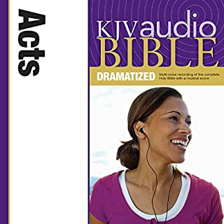 KJV Audio Bible: Acts (Dramatized) cover art