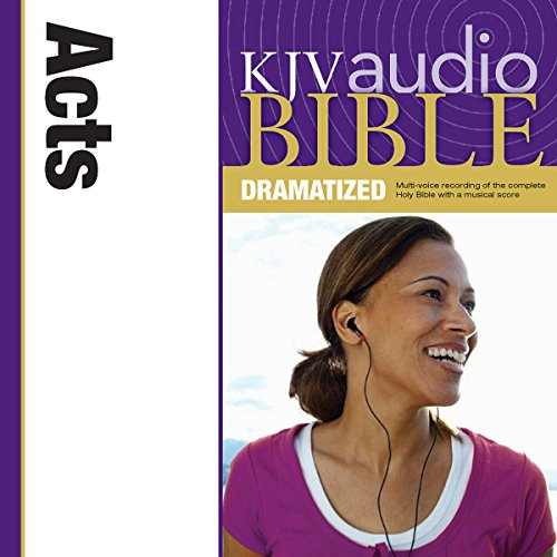 KJV Audio Bible: Acts (Dramatized) audiobook cover art