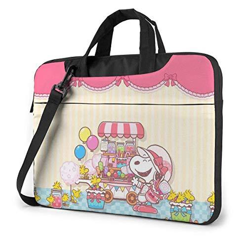 15.6 Inch Laptop Bag Pink Laptop Briefcase Shoulder Messenger Bag Case Sleeve LAPT-522