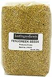 JustIngredients Essential Semillas de Fenogreco - 5 Paquetes de 500 gr - Total: 2500 gr