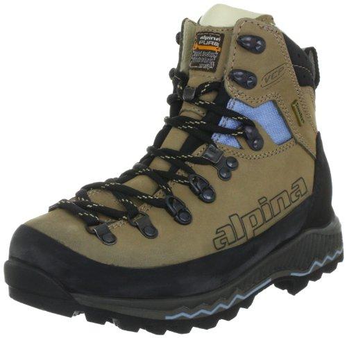 Alpina 680187 Damen Trekking- & Wanderstiefel, Beige (Beige), 39.5 EU (6 UK)