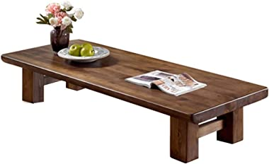 Fashion Coffee Table Simple Solid Wood Coffee Table Creative Japanese-Style Tea Table Tatami Small Table Stylish Low Table (C