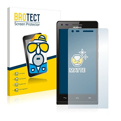 BROTECT 2X Entspiegelungs-Schutzfolie kompatibel mit Huawei Ascend P7 Mini Bildschirmschutz-Folie Matt, Anti-Reflex, Anti-Fingerprint