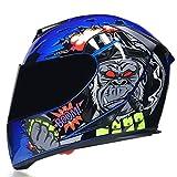Casco Moto Cascos integrales Moto Cascos de doble visera Casco de motocross Casco Casco modular de moto Moto Capacete