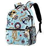 Mochilas de viaje de Leisure Campus, divertidas bolsas de brújula con soporte para botella para niñas y niños