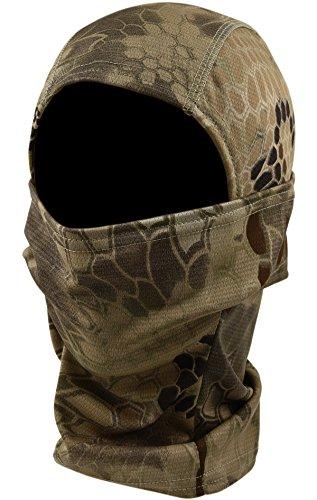 DCCN Tactical Sturmhaube Maske Gesichtsmaske Balaclava für Radsport Motorrad Snowboard Skifahren