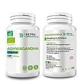 Detox Organica Ashwagandha Capsulas Orgnica 500 Mg 120 Cpsulas | Ashwagandha...
