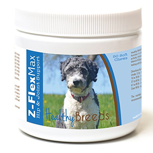 Healthy Breeds Z-Flex Max Hip & Joint Supplement Soft Chews for...