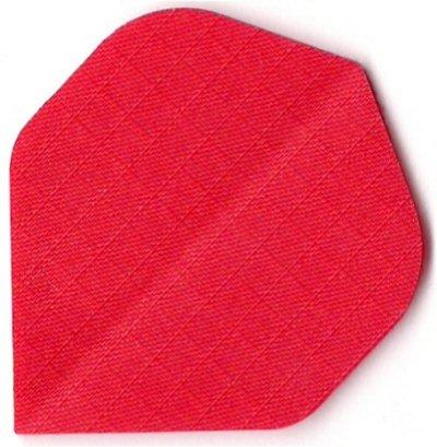 12 Nylon Stoff Longlife Dart Flights ROT (4 Sätze) + 1 Satz british-darts Flights