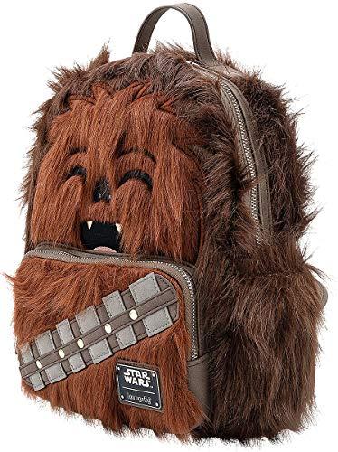Star Wars Loungefly - Chewbacca Mujer Mini Mochilas multicolores, Semi piel,