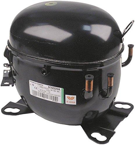 DANFOSS/SECOP NT6222GK Kompressor vollhermetisch 50Hz 17kg Höhe 252mm 17,39 cm³ Kältemittel R404a/R507 1 HP 2.247 W 1.583 W CSR