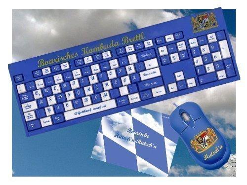 Bayerische Tastatur - Boarisches Kombuda Brettl