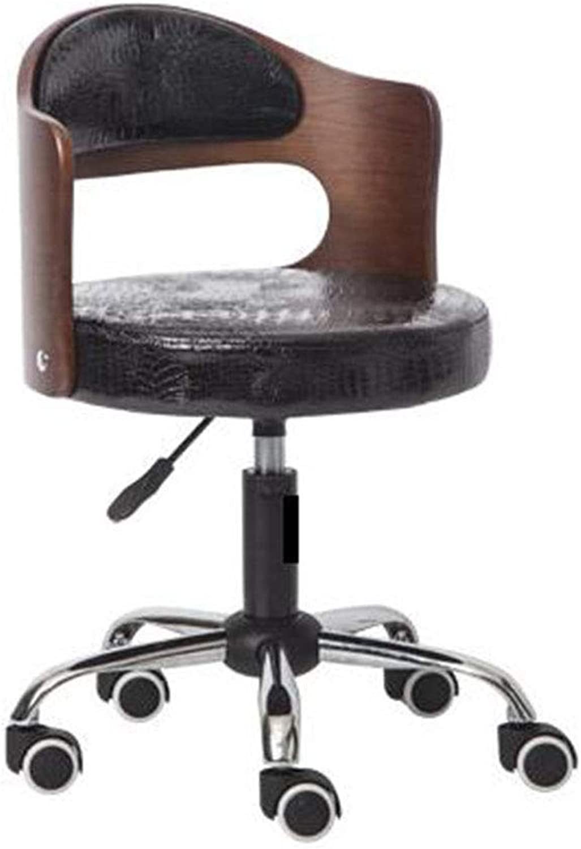 CCF European Home Computer Chair Lift redating Office Desk Staff Chair Modern Minimalist Study Swivel Chair Dressing Stool C (color   A2)