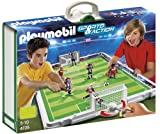 Playmobil Fútbol - Fútbol: Set de fútbol, maletín (4725)