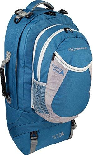 Highlander Explorer Ruckase Zaino, Blu (Teal), 45+15 L