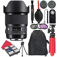 Sigma 20mm F / 1.4DG HSM Artレンズfor Nikon +アクセサリーバンドル
