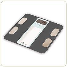 LITTLE BALANCE - Impédancemètre Body Graphic - Pèse-personne électronique avec analyse et suivi de la composition corporel...