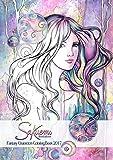 Sakuems Fantasy Characters 2017 (Sakuems Coloring books Book 1)