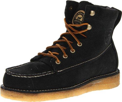 "Irish Setter Men's 3826 Bar Boot 7"" Casual Boot,Black,9.5 EE US"