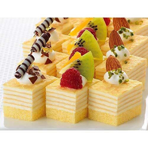 フレック GFC420 ミニカットケーキ ミルクレープ  48カット【冷凍】