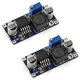 DZS Elec 2PCS LM2596 DC-DC Step Down Variable Volt Regulator Input 3.2V-40V Output 1.25V-35V Adjustable Buck Converter...
