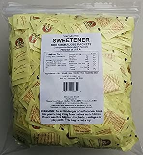 Bulk Sucralose - 2000 Yellow Packets (Generic Splenda