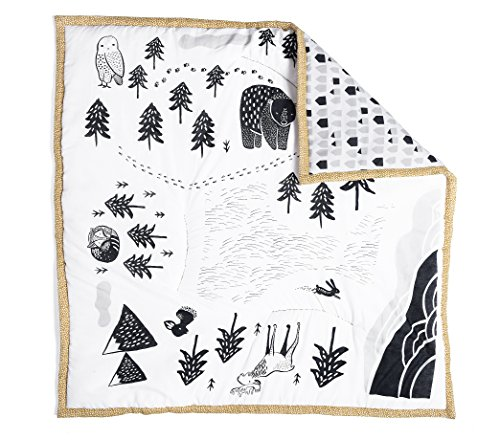 Wee Gallery, Explore Play Mat, Organic Cotton Muslin Mat for Baby, 40 x 40...