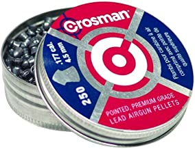 Crosman P177 .177-Caliber Pointed Pellets (250-Count)
