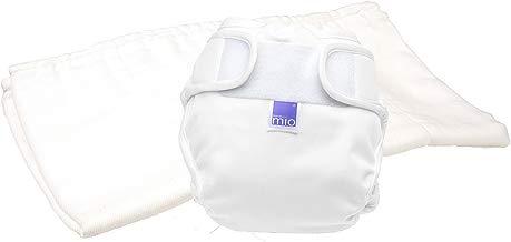 Bambino Mio Miosoft - Pañal reutilizable set de prueba, diseño Blanco, talla 2, 9 kg+