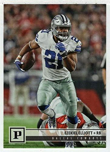 Ezekiel Elliott Football Card 2018 Panini 77 Mint product image