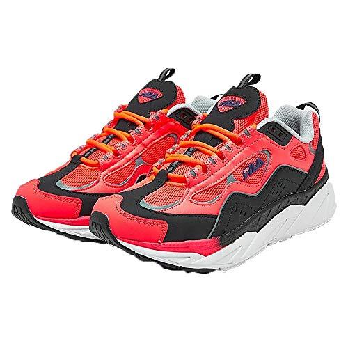 Fila Damen Trigate Sneakers, (Diva Pink/Schwarz/Weiß), 38 EU