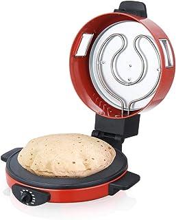 ماكينة صنع خبز الروتي والتورتيلا والبيتزا من ساتشي مقاس 30 سم طراز NL-RM-4979 بلون احمر