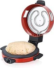 Saachi 30cm Roti/Tortilla/Pizza Maker - NL-RM-4979, Red