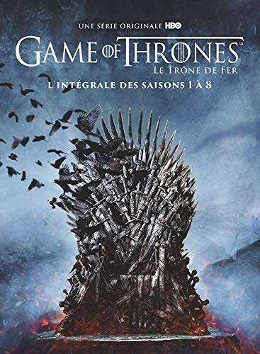 Coffret DVD Game of Thrones L'intégrale des Saisons 1 à 8 Edition Spéciale (Inclus un Livret Photos + 4 Disques Bonus)