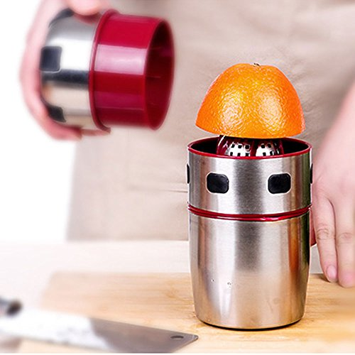 WESEASON Gesunder Entsafter Mit Kaltem Pressverfahren Handorange Entsafter Küche Oder Esszimmer Zitronen Granatapfel Orangensaft Kinder Saftmaschine