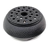 tea cast iron set - Black Hobnail Small Dot Japanese Cast Iron Tetsubin Teapot Warmer (F15364)~ We Pay Your Sales Tax