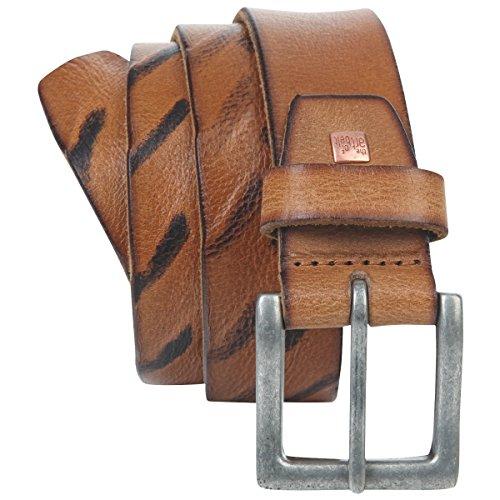 Ceinture Homme/Ceinture Homme Premium leather The Art of Belt Unisex, cognac, Größe/Size:100, Farbe/Color:marron