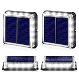 Luci Solari per Giardino, Lampada Solare da Esterno, IP68 Impermeabile Piazza Luci di Sicu...