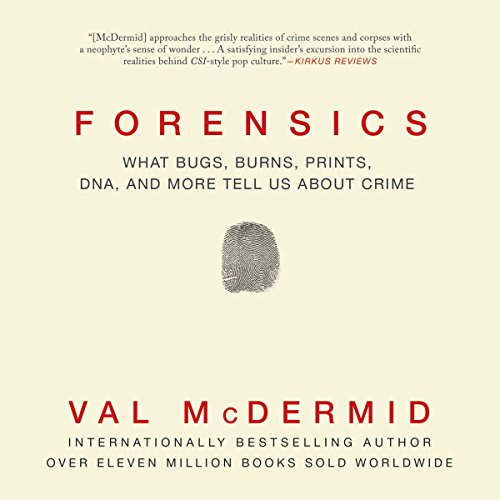 Forensics audiobook cover art