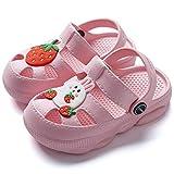 Zuecos Unisex niños,Clog Kids Unisex Lindas Zapatillas Antideslizantes, Zapatos de Playa y Zapatillas de Agua Zapatillas de bebé Zapatillas de habitación