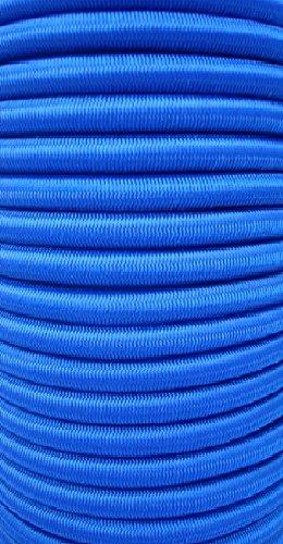 10 m de corde extensible bleue 6 mm corde élastique fixation bâche tendeur élastique pour bâche