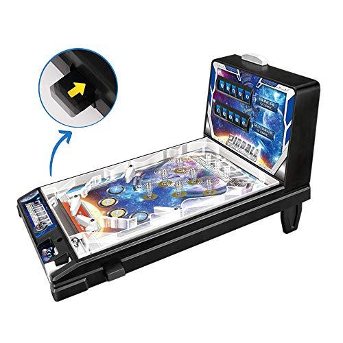 Toys— Pinball de Rompecabezas para niños — Super Pinball Toy —New Era Pinball Juego— Videojuego para niños — Mini Pinball para niños, Regalo de Fiesta de cumpleaños