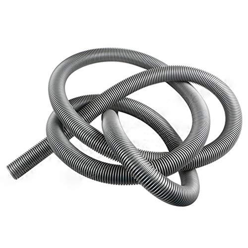 xy Manguera de aspiradora Inner 38 mm, aspiradoras industriales Fuelle, pajitas, Manguera de Hilo/tubería, duraderas, Piezas de aspiradora Manguera de Alta eficiencia (Color : Grey)