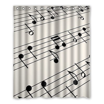 Dalliy brauch fuoco impermeabile poliestere Shower Curtain Tenda da Doccia 152cm x 183cm, poliestere, c, 60' x 72'