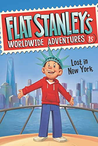 Flat Stanley\'s Worldwide Adventures #15: Lost in New York (English Edition)