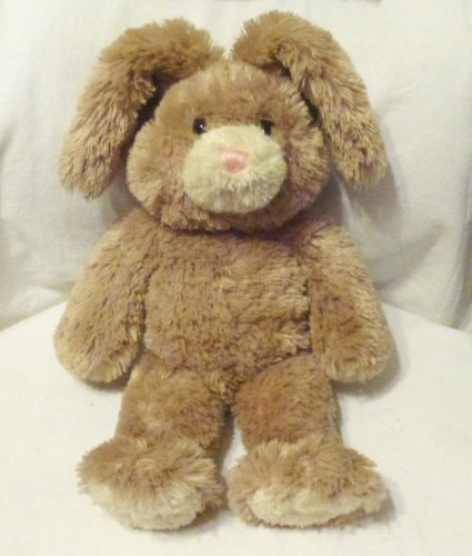 Build a Bear Workshop 15 Light Brown Bunny Plush Tan Nose, Paws and Ears by Build A Bear